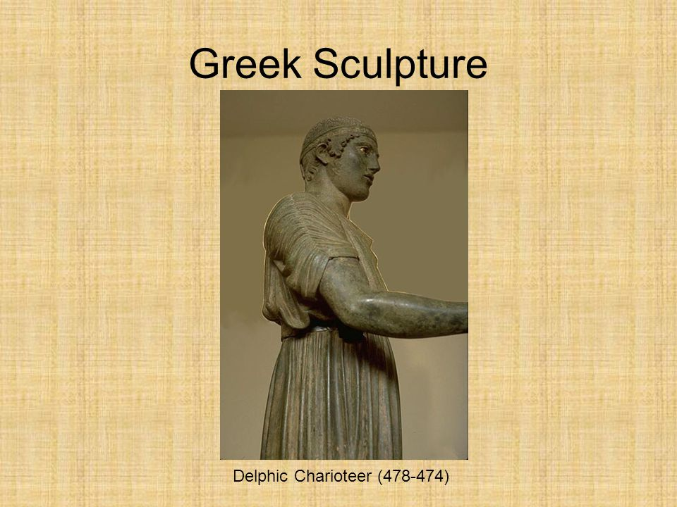 Greek Sculpture Delphic Charioteer (478-474)