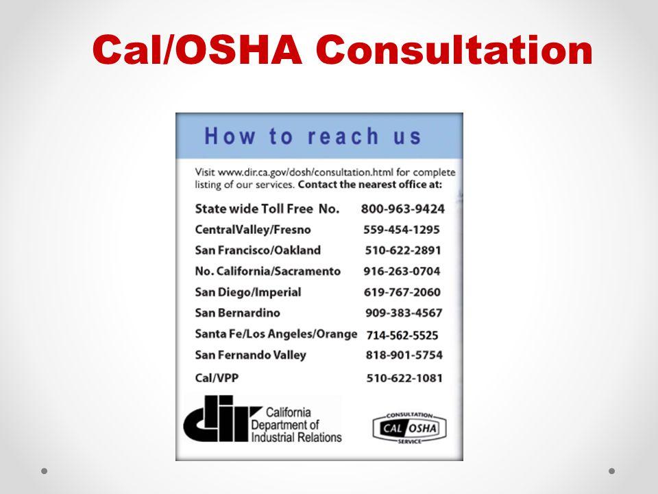 Cal/OSHA Consultation