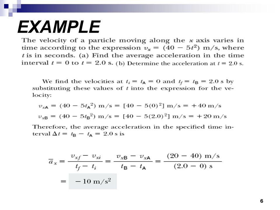 6 EXAMPLE
