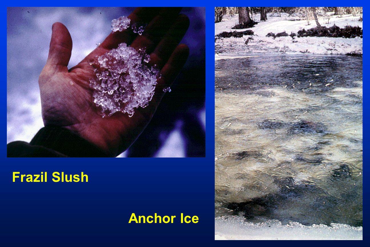 Frazil Slush Anchor Ice