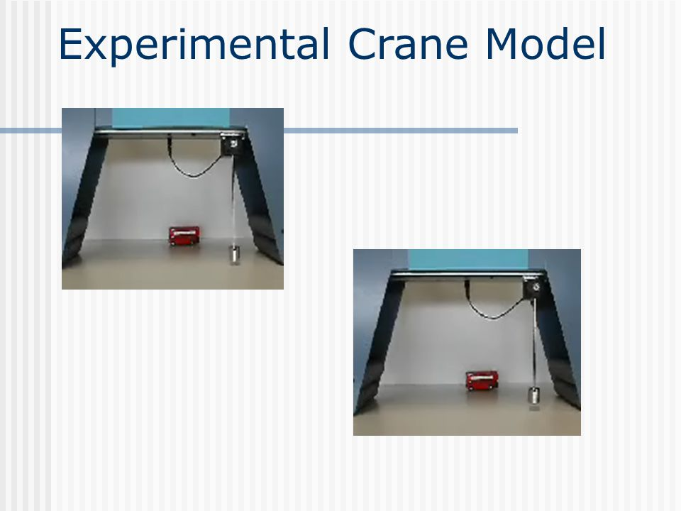 Experimental Crane Model