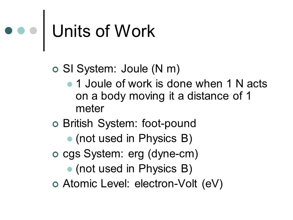 Force and direction of motion both matter in defining work.