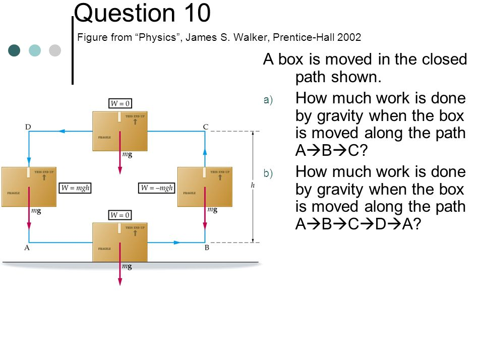 Question 11 A diver drops to the water from a height of 40.0 m, his gravitational potential energy decreases by 25,000 J.