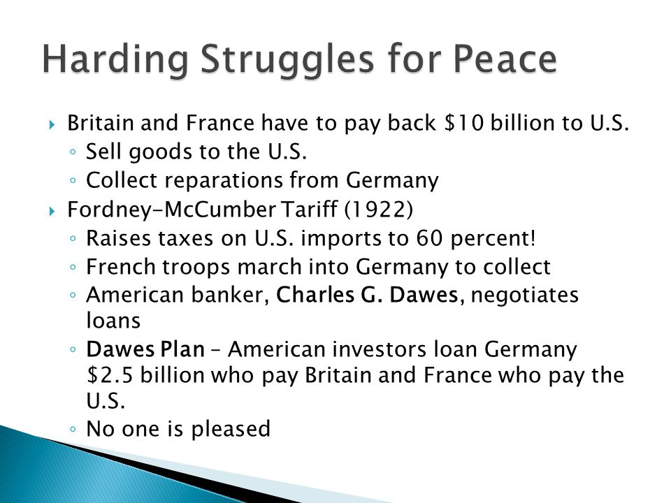  Britain and France have to pay back $10 billion to U.S.