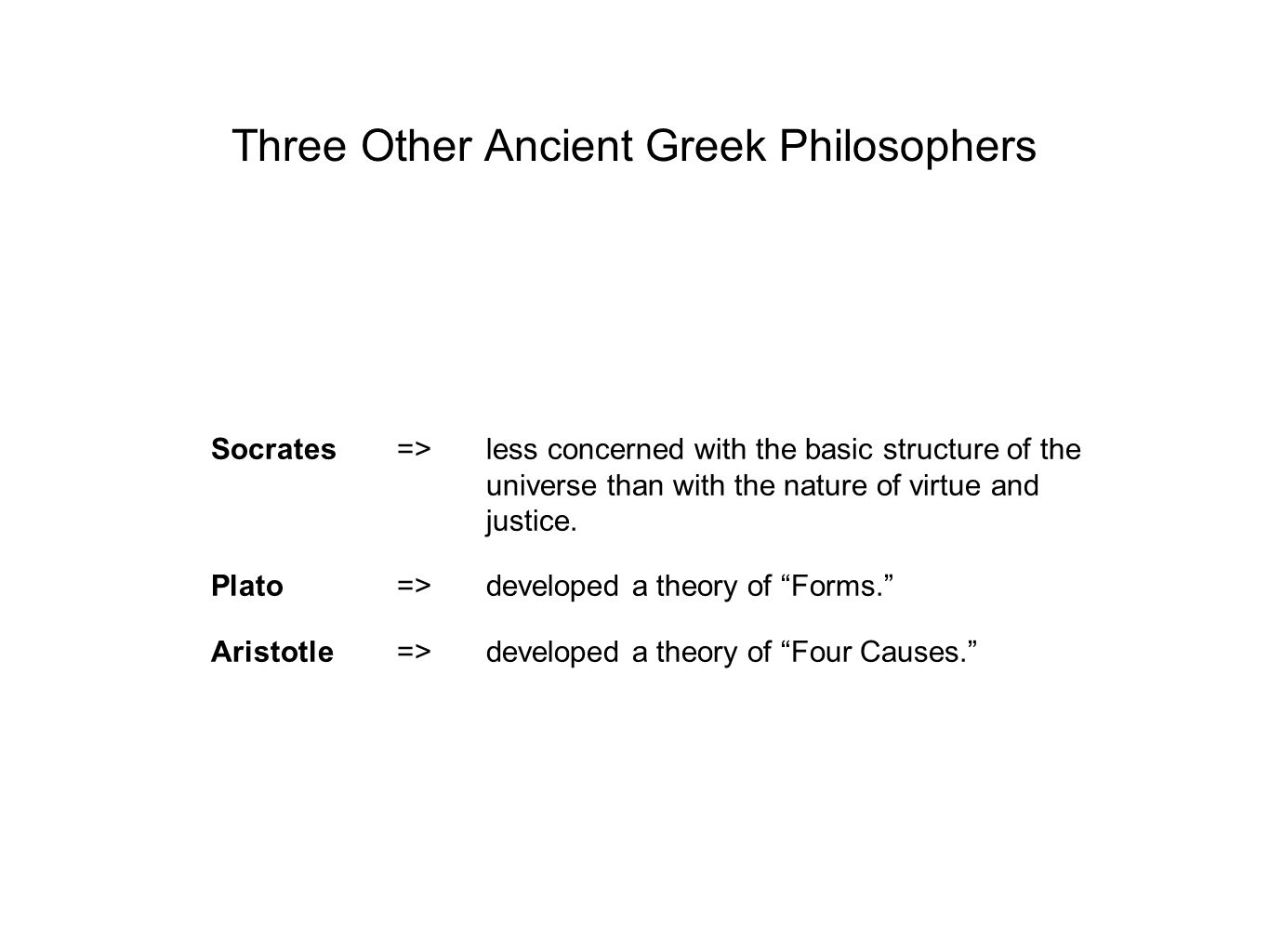 Plato's Theory of Forms Plato considered the familiar trees and rivers that we perceive by the senses at best poor imitations of the ideal forms of TREE and RIVER (p.