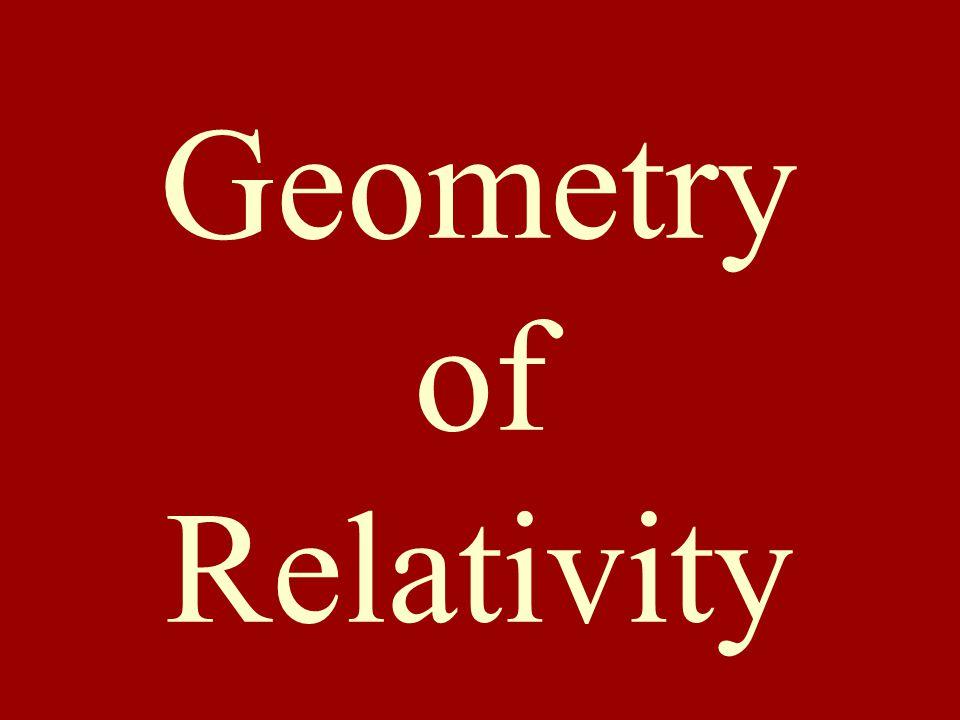 Geometry of Relativity
