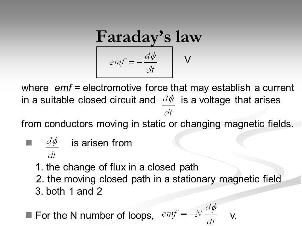 Displacement current (1) The next Maxwell's equation can be found in terms of time- changing electric field From a steady magnetic field, From the equation of continuity, therefore this is impossible!