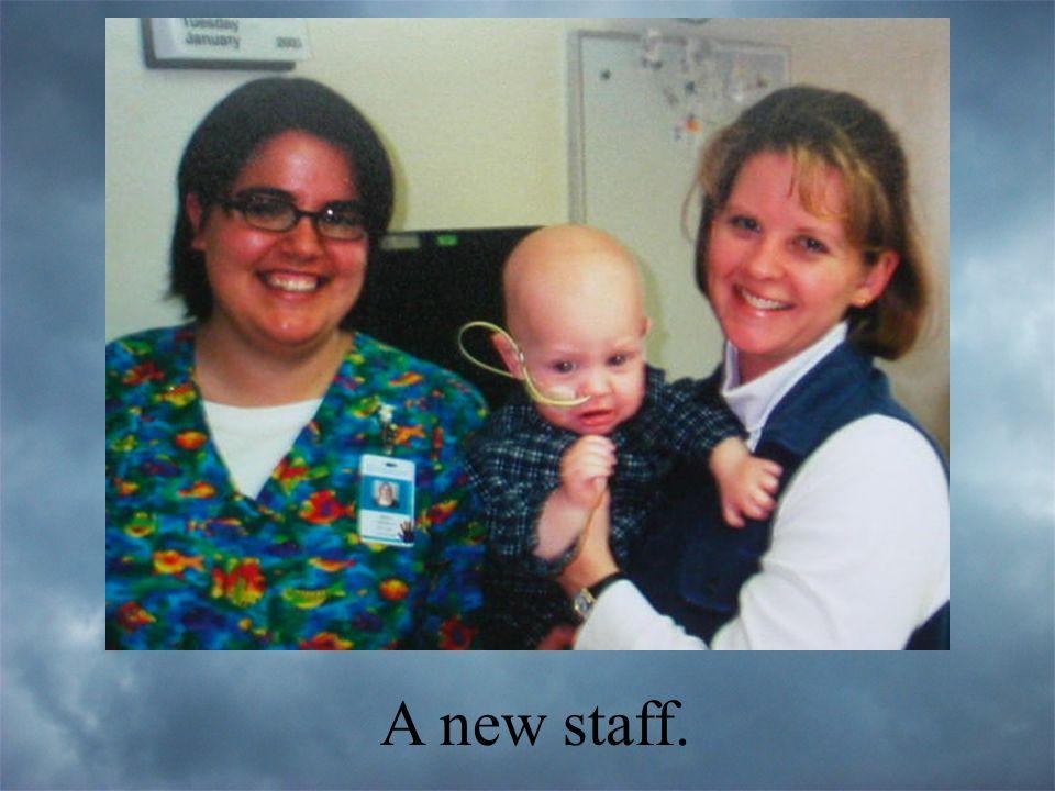 A new staff.
