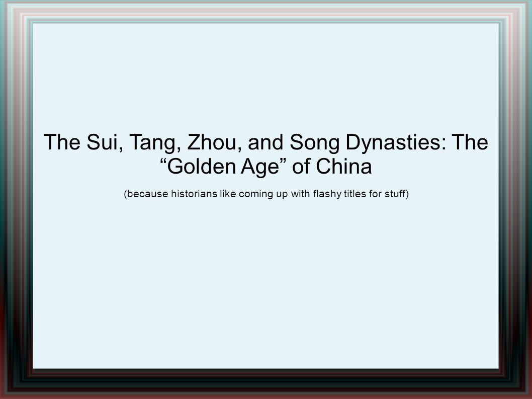 Tang Reforms Expanded the Civil Service System - Still had to be pretty wealthy to afford education Modified and expanded the Sui legal code - Specified a number of different crimes - Different Punishments based on severity - Why was this good.