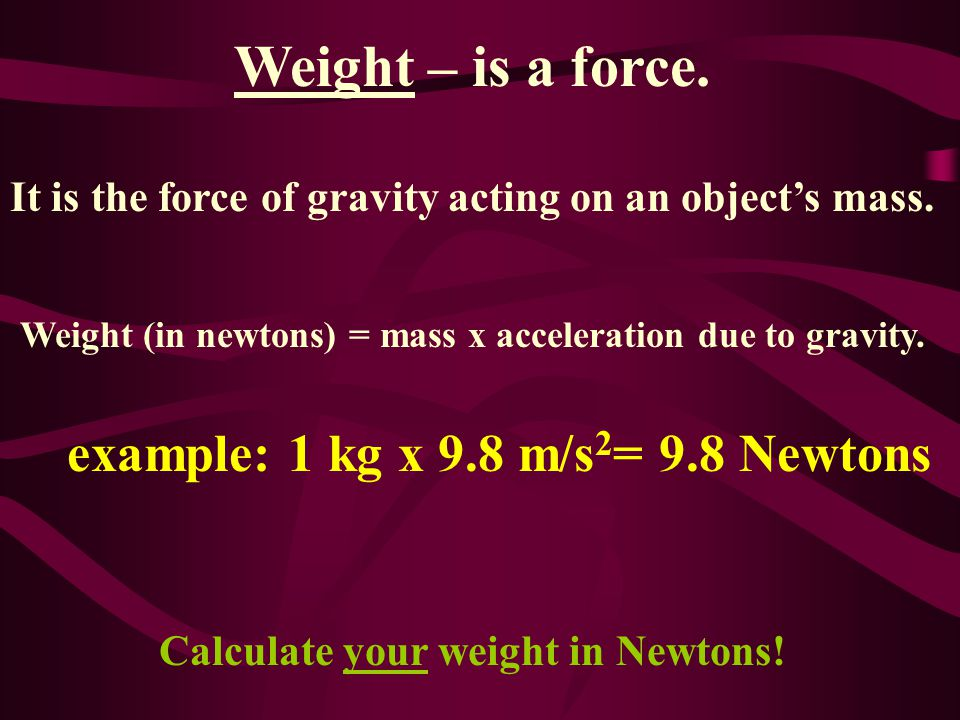 Friction – is a force caused by objects touching that opposes motion, but is necessary.
