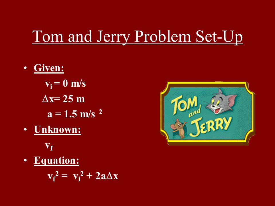 Tom needs to get away from a bomb that Jerry has set.