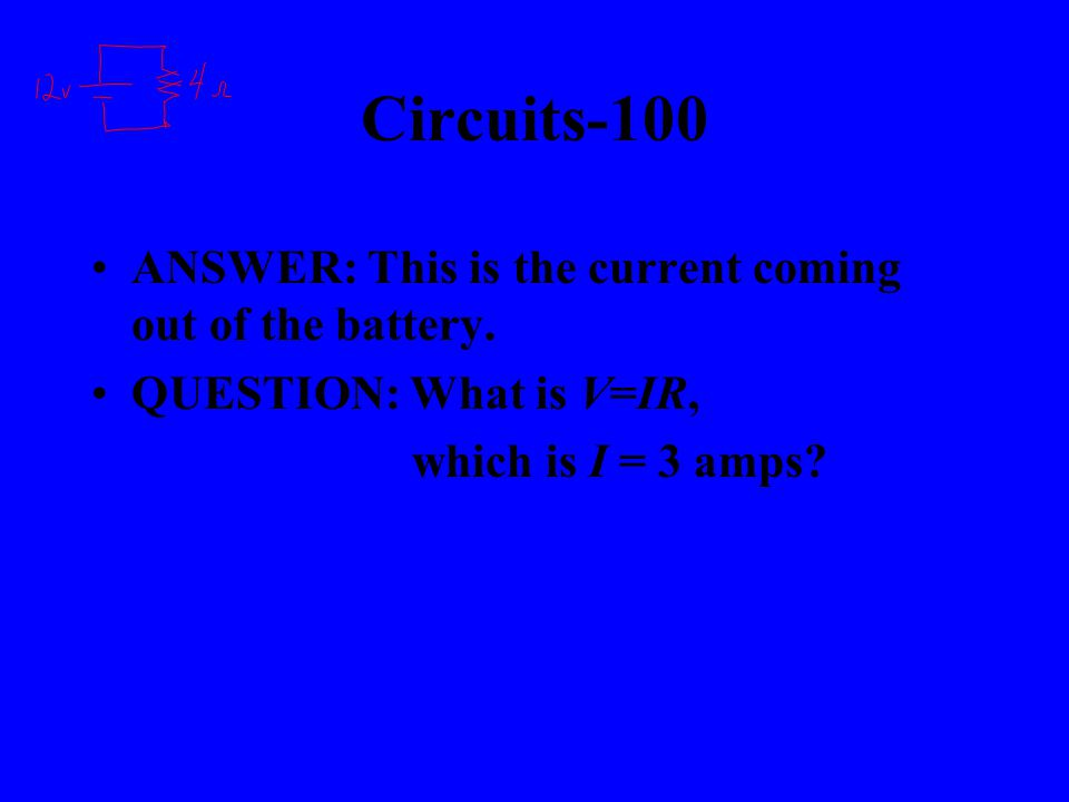 Electricity-500 ANSWER: This is the name given to any material that allows charges to freely move on/along it.