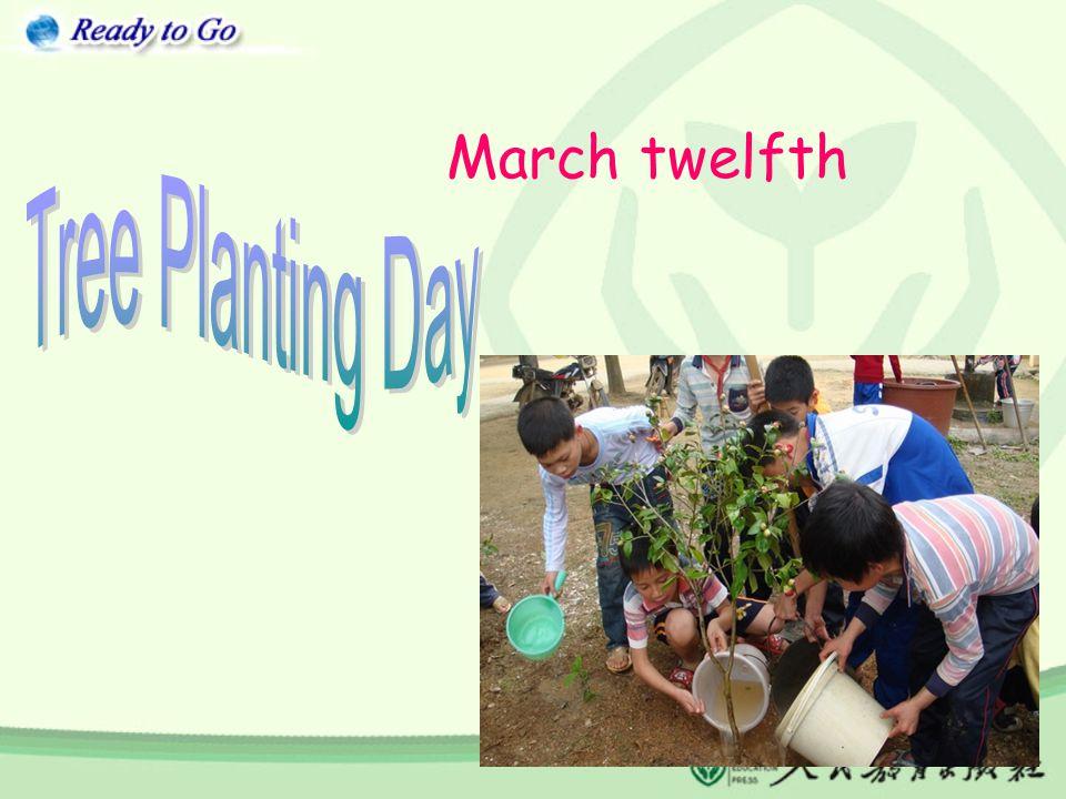 March twelfth