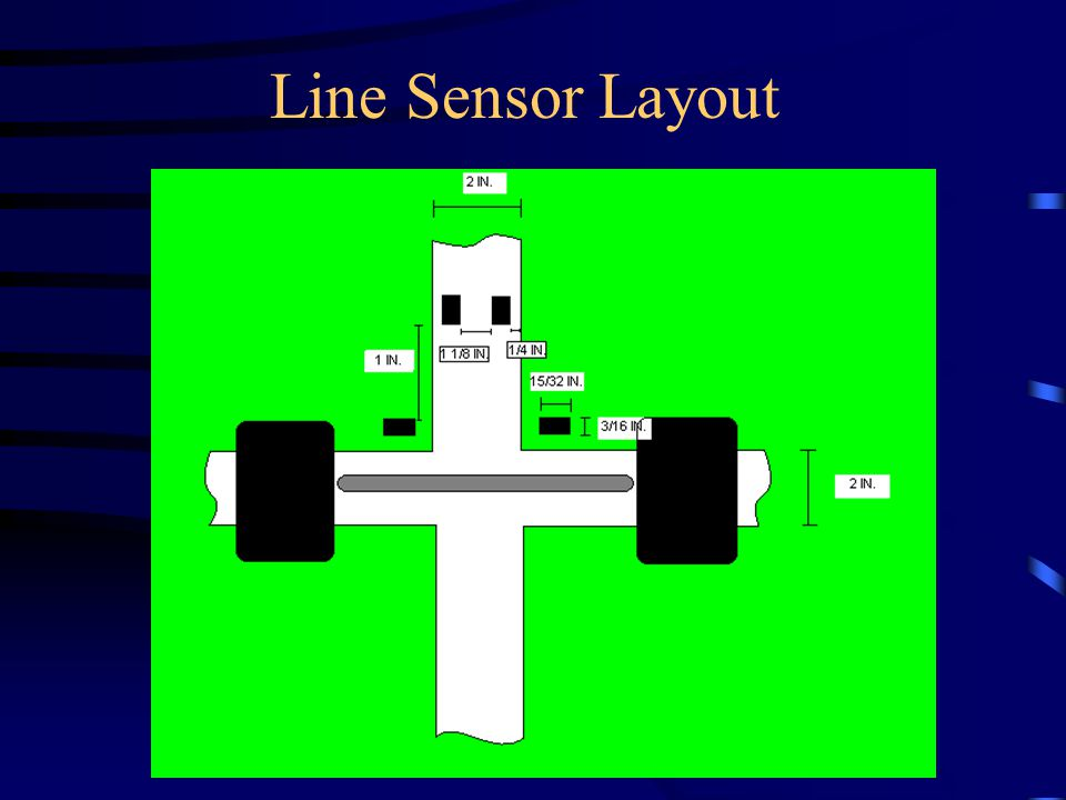 Line Sensor Layout