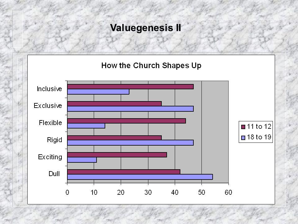 Valuegenesis II