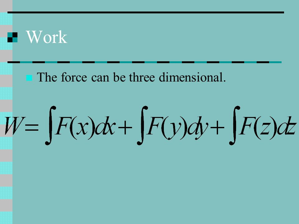 Force and Potential Energy Force is the negative of the slope of the potential energy versus position graph.