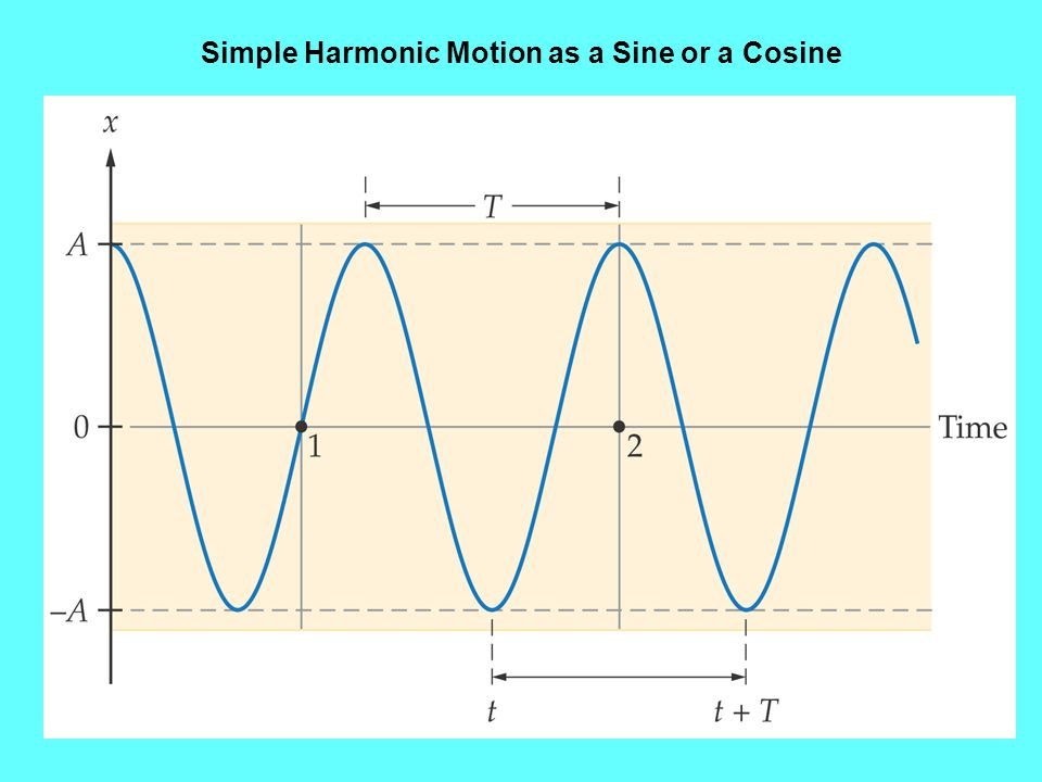 Practice Problems Ex1: An air track attached to a spring completes one oscillation every 2.4 secs.