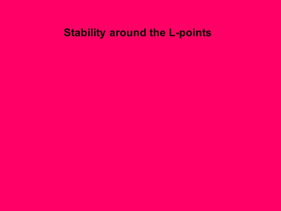 Stability around the L-points
