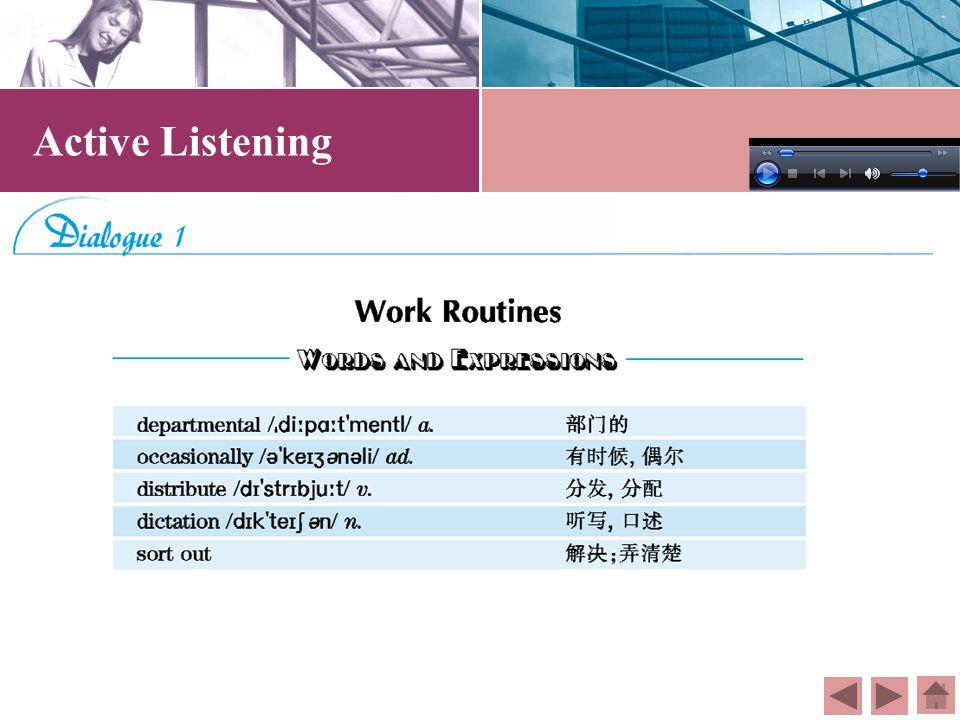 Contents Part I Active ListeningPart II Fun BreakPart III Additional ListeningPart IV Viewing & Speaking