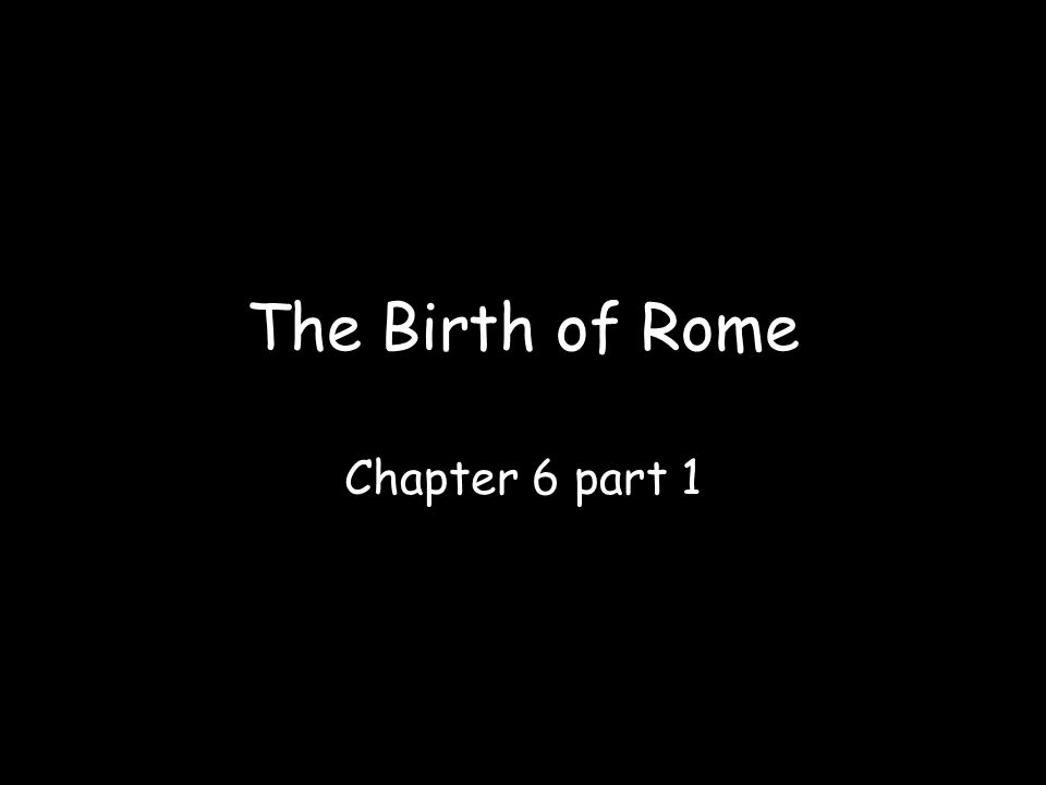 The city of Rome was near the center of that peninsula on land known as Latium.