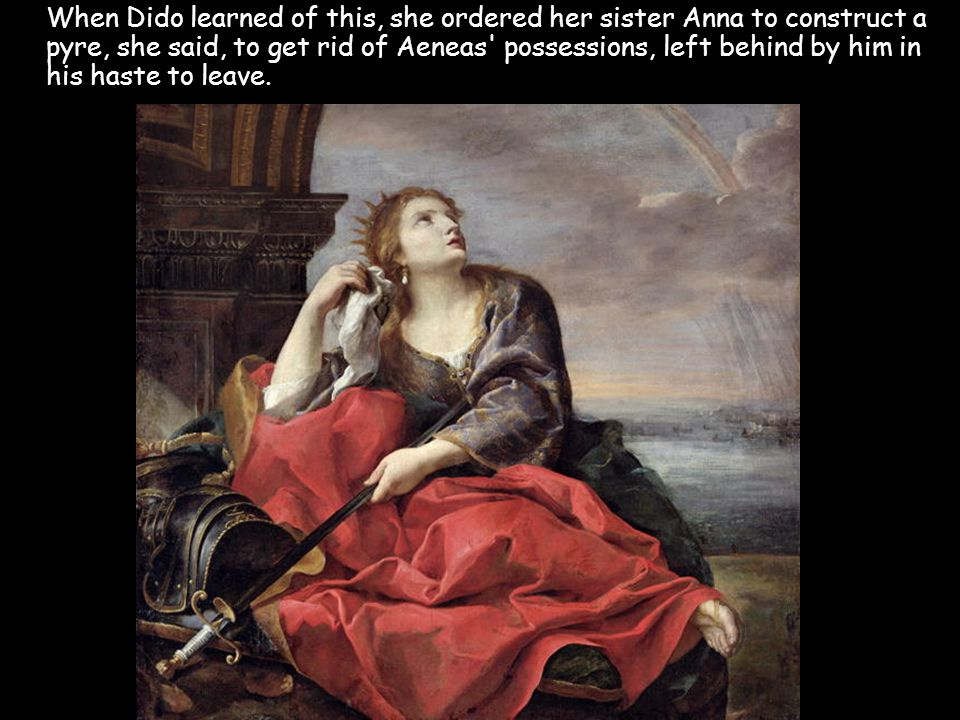 Standing on it, Dido uttered a curse that would forever pit Carthage against descendants of Aeneas.