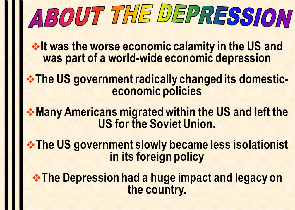 Capitalismlaissez faireThe Great Depression can be described as the total collapse of the US economic system of Capitalism, laissez faire and everything we believed in as a country.
