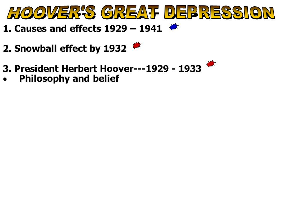 Direct Help for Citizens ► Hoover strongly opposed the federal government's participation in relief.