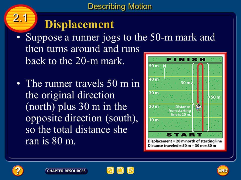 Distance 2.1 Describing Motion Shorter distances are measured in centimeters (cm).