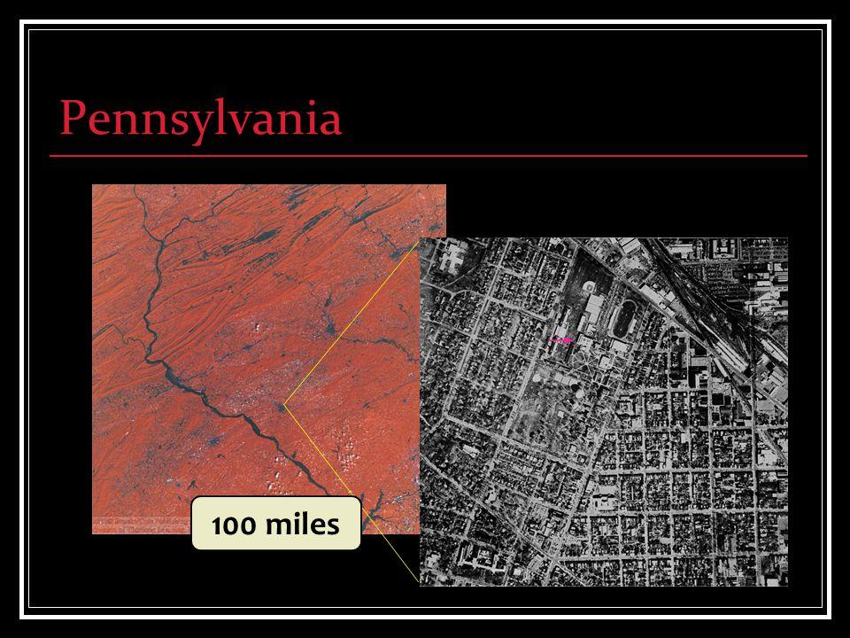 Pennsylvania 100 miles