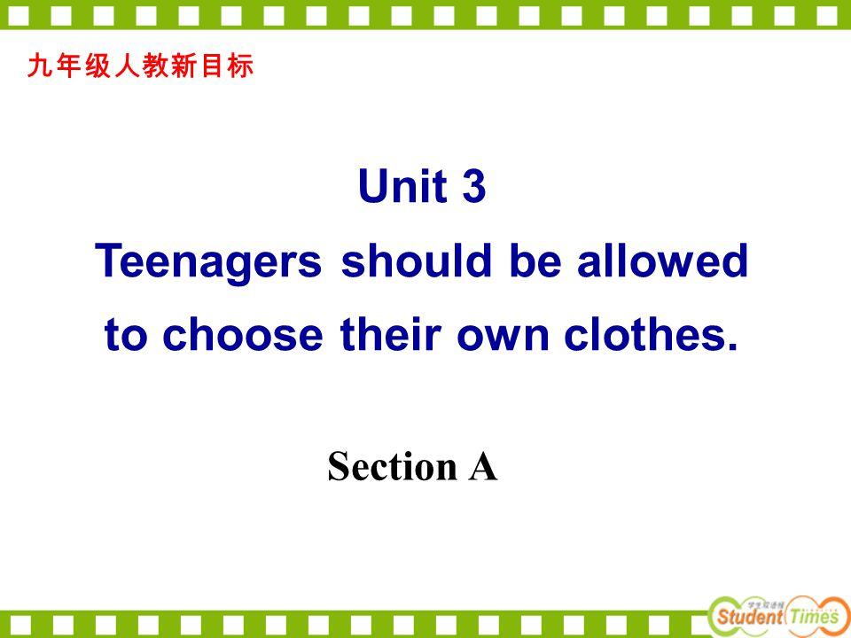 ( ) 3.Did you teacher allow you ___ home. A. go B.