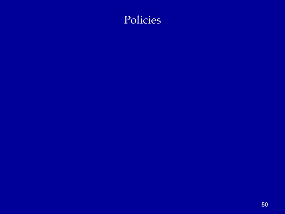 Policies 50