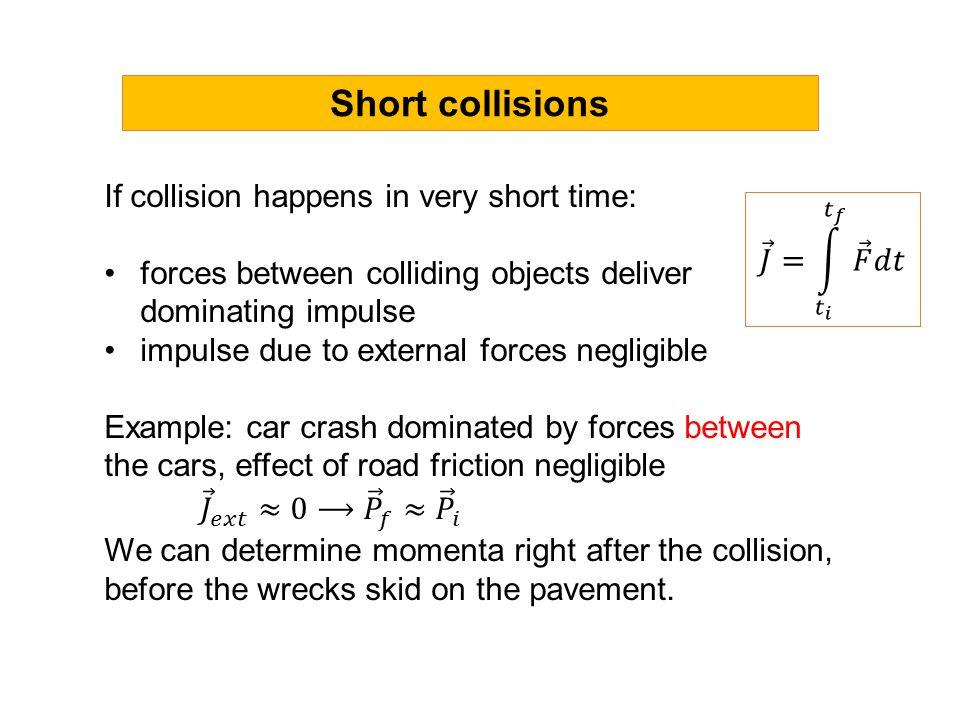 Short collisions