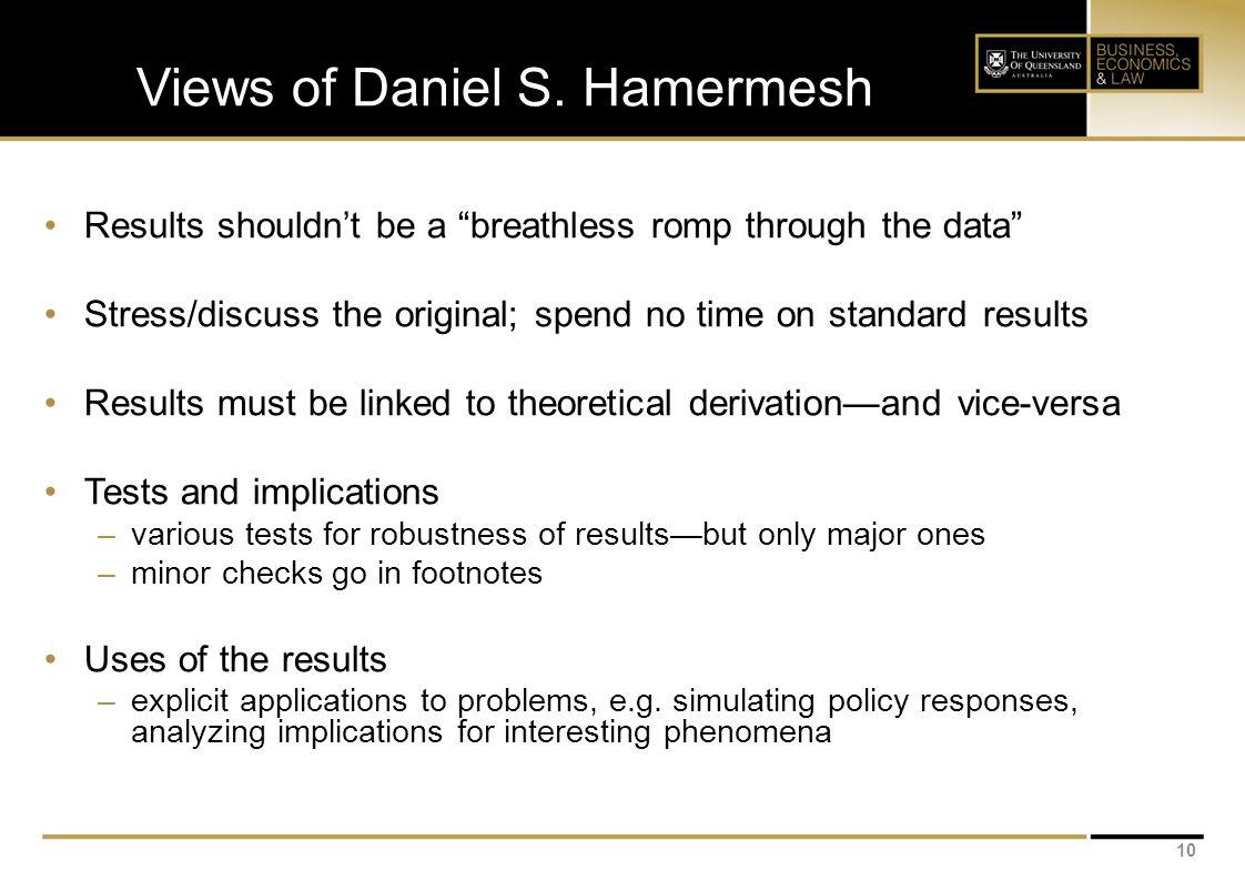 Views of Daniel S.