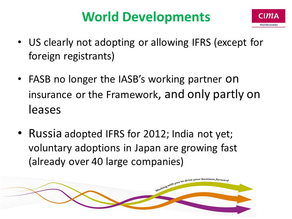 IFRS for SMEs Comprehensive review (ED 2013) Small changes, e.g.