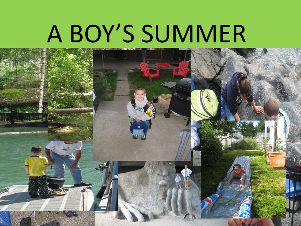 A BOY'S SUMMER IS GONE GONE