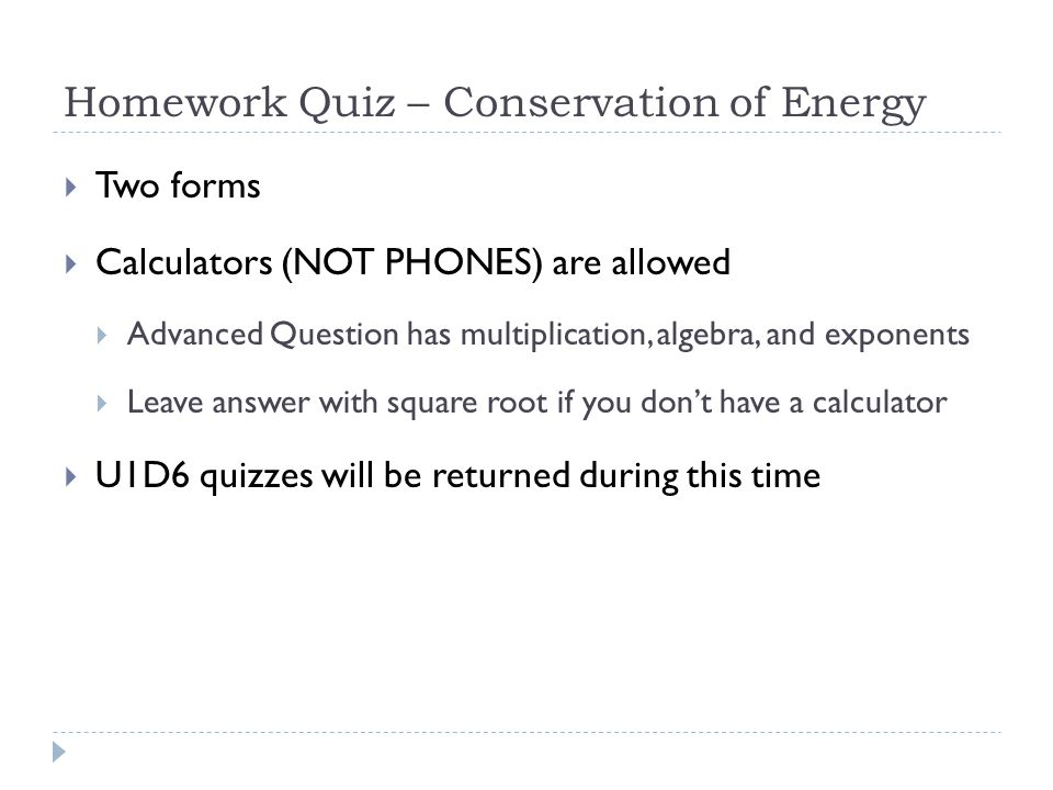 Reflect on M/T's HW Quiz  Based on your score, does this change any of your numbers in your learning log (1/29 or 30).