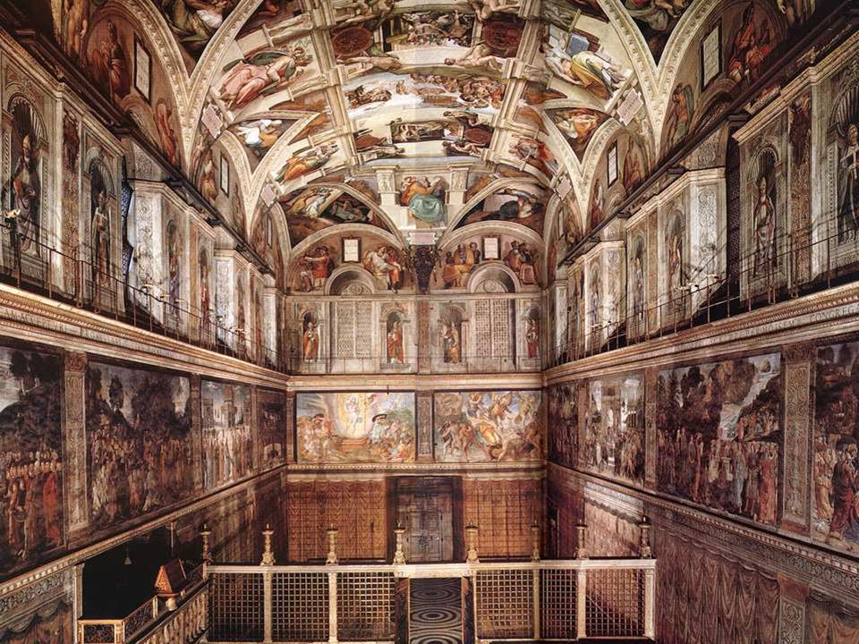 The Sistine Chapel is located in the Vatican City in Rome, attached to St. Peter's Basilica, the papal apartments and the vast complex of buildings th