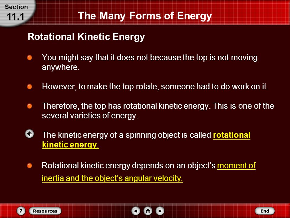 Conservation of Energy Section 11.2 b.Solve for the speed of the limb.