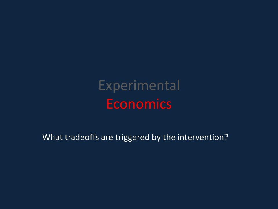 What tradeoffs are triggered by the intervention?