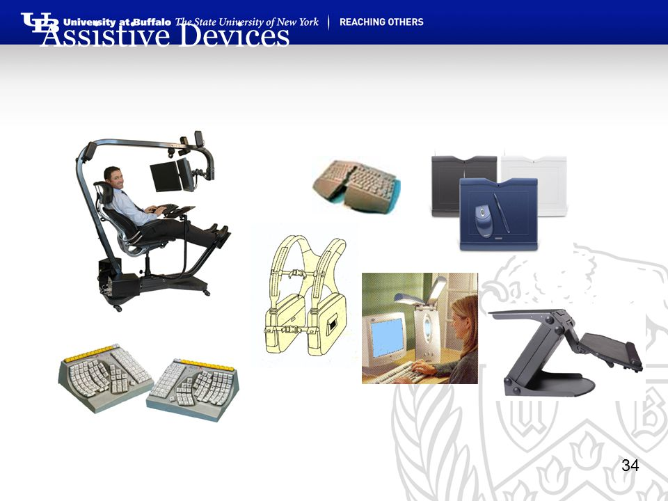 34 Assistive Devices