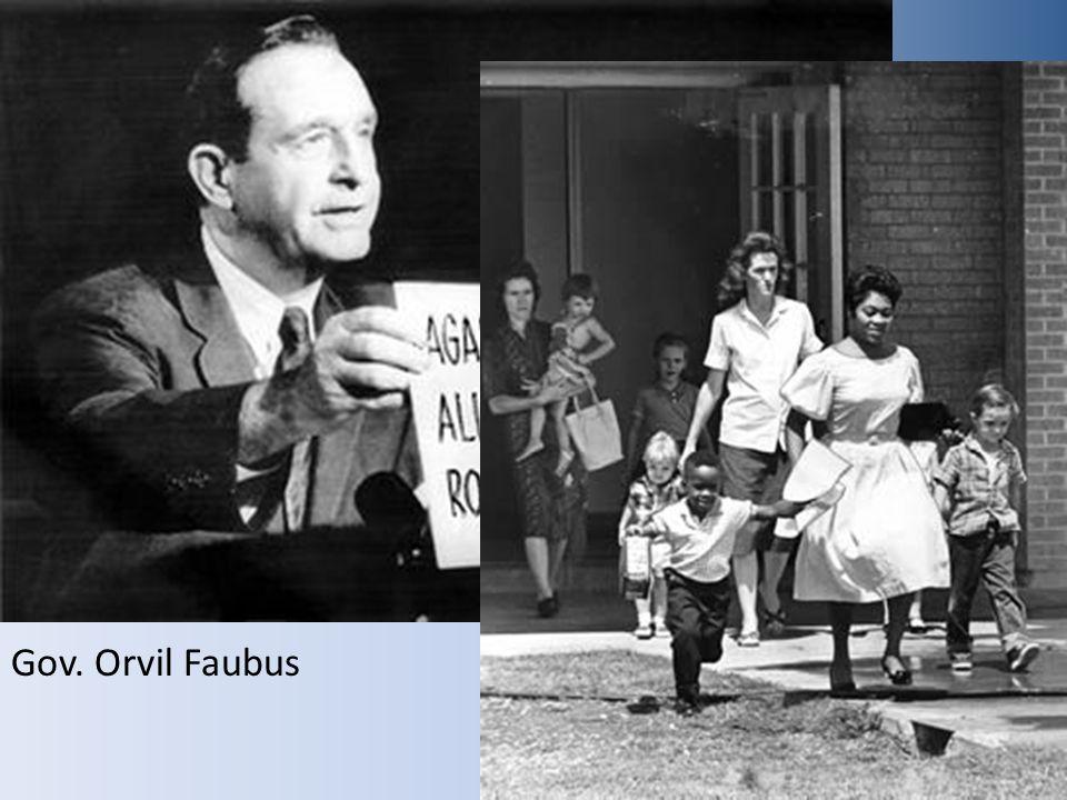 Gov. Orvil Faubus