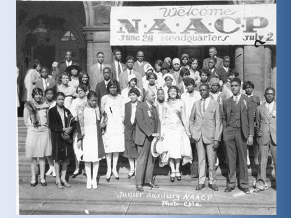 National Urban League.– Focused on economic issues.