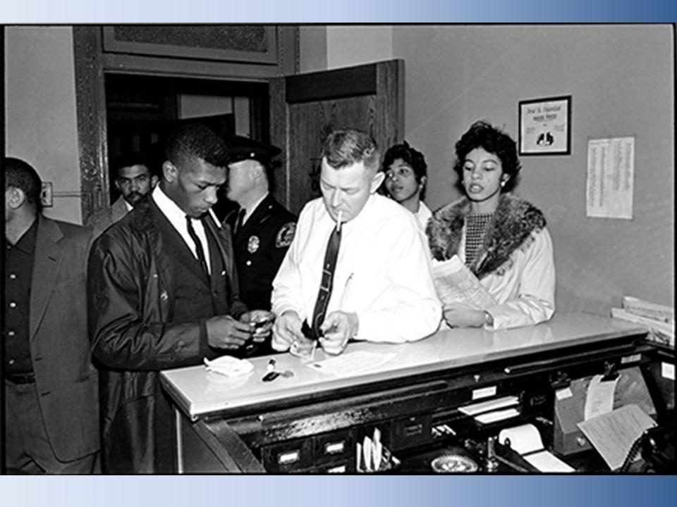 1960-Boynton v.Virginia desegregated bus station terminals & cafes.
