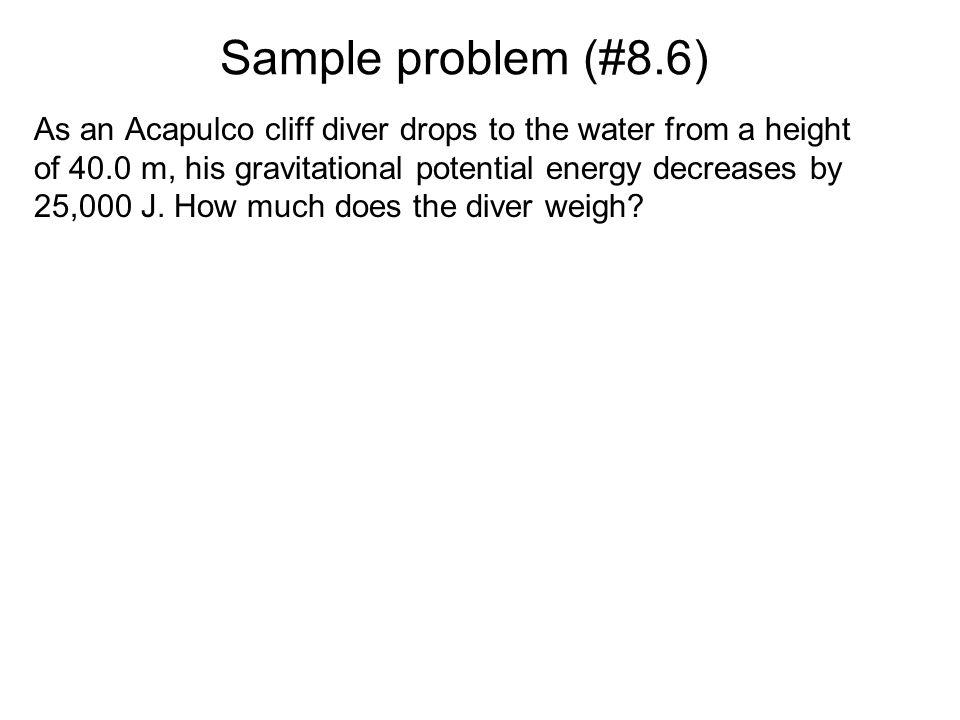 Solution a) W f = -  k mgd -  k mgd W f = -2  k mgd b) W f = -  k mgd -  k mgd -  k mgd -  k mgd = -4  k mgd Because friction is a nonconserva