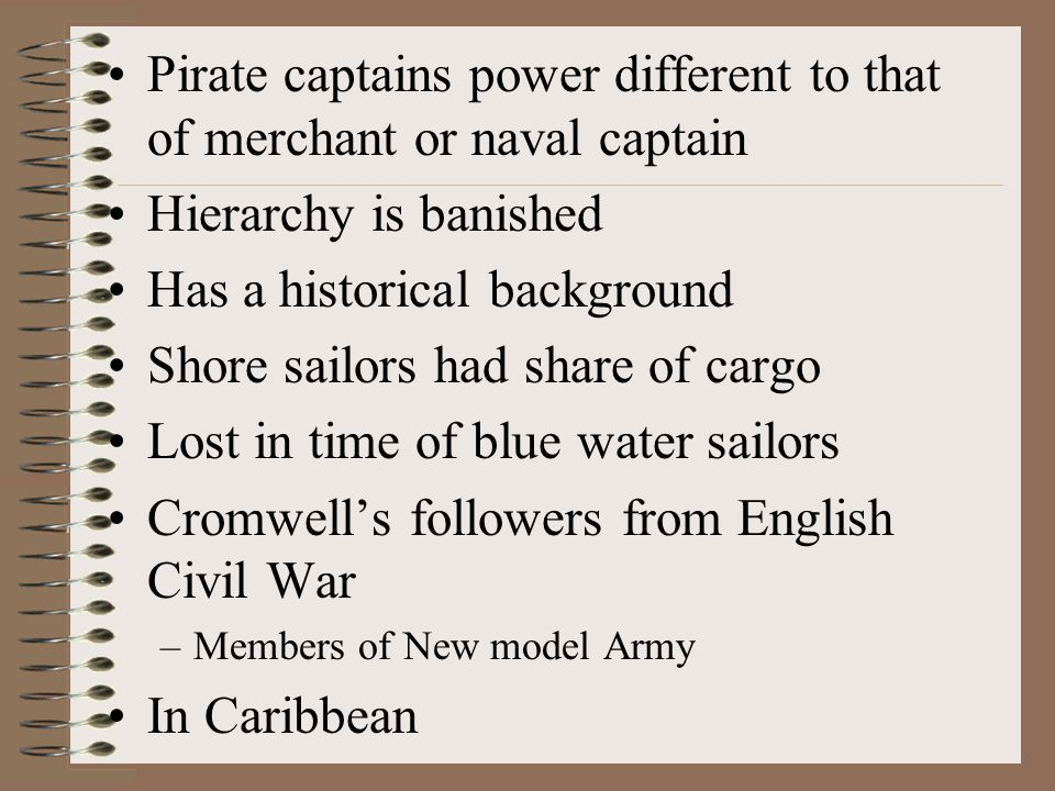 One final bad boy Ned Low Born England Moved to Boston Married had a daughter Wife died Headed south to Honduras Turned pirate
