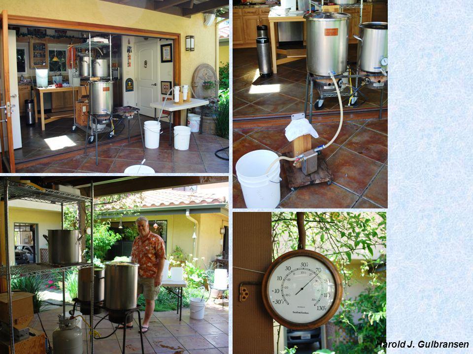 Temperature control during fermentation Harold J. Gulbransen