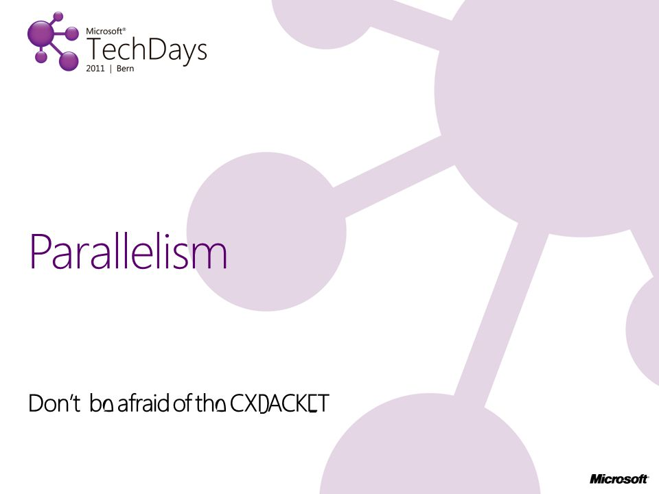 Don't be afraid of the CXPACKET Parallelism
