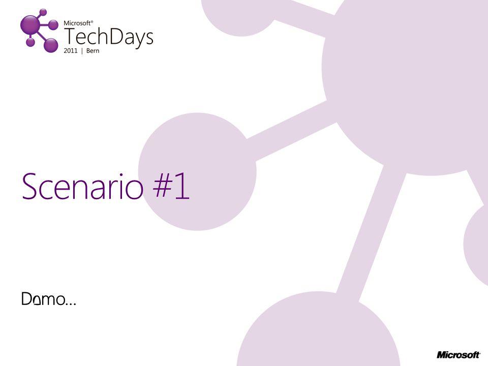 Demo… Scenario #2