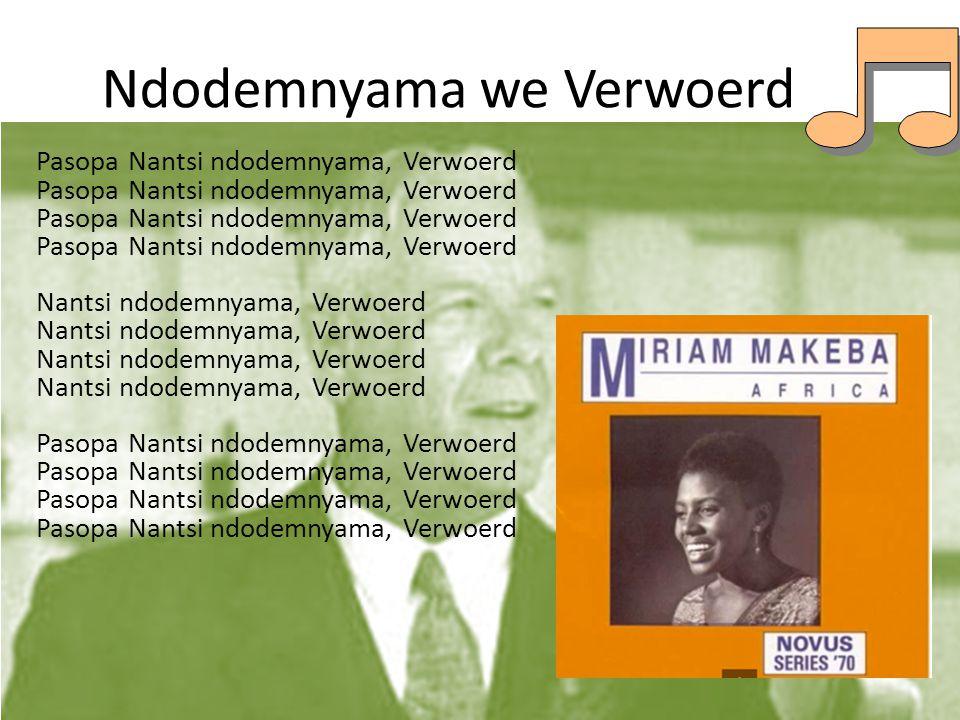 Nkosi Sikelel' i Afrika God bless Africa Malupakam' upondo Iwayo Raise up her spirit Yiva imitandazo yetu Hear our prayers Usi - sikelele And bless us Sikelel' amadol' asizwe Bless the leaders Sikelela kwa nomlisela Bless also the young Ulitwal' ilizwe ngomonde That they may carry the land with patience Uwusiki lele And that you may bless them Sikelel' amalinga etu Bless our efforts Awonanyana nokuzaka Through learning and understanding Uwasikelele And bless them Yihla Moya~ Yihla Moya.