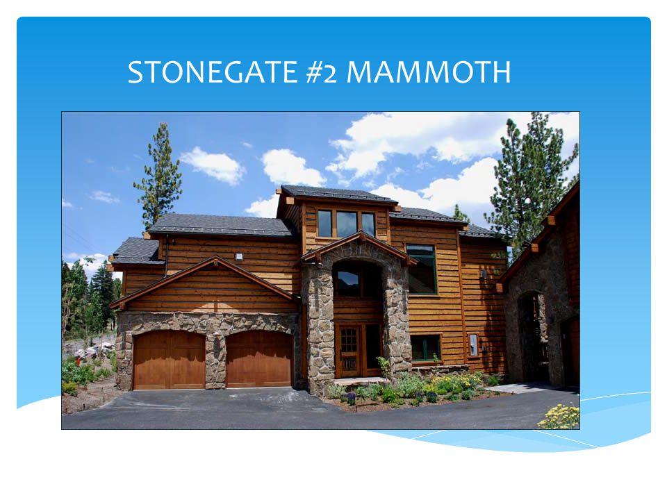 STONEGATE #2 MAMMOTH
